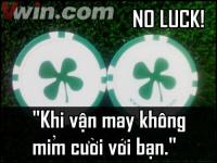 Khi bạn không may mắn trong thi đấu Poker